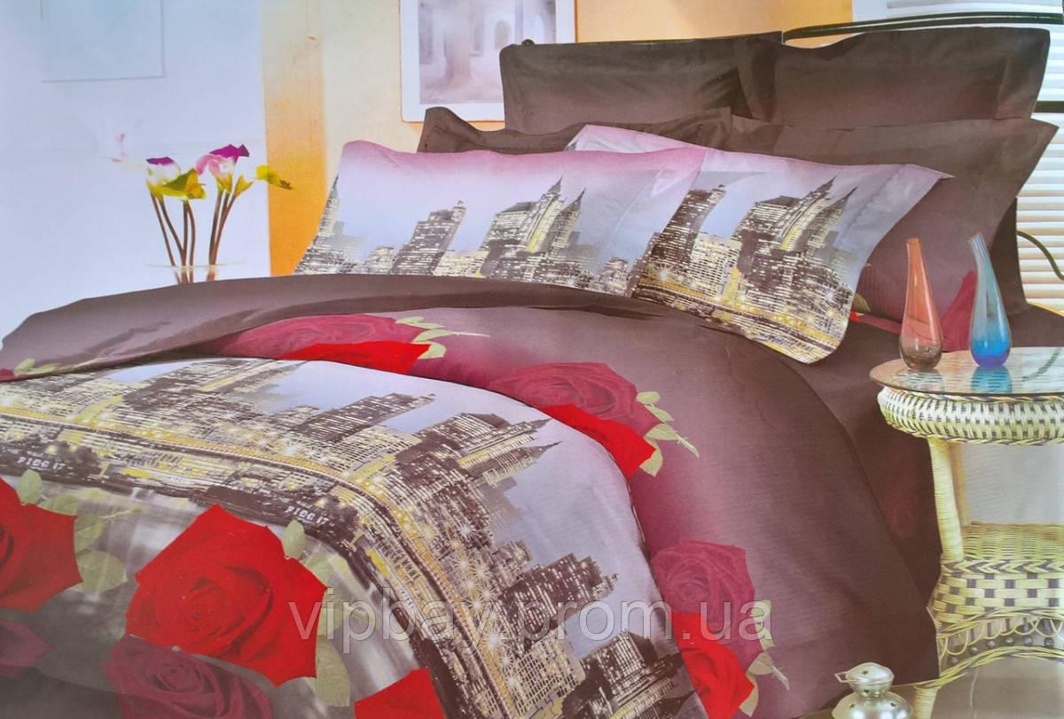 Комплект постельного белья Двуспальный Полиэстер Moda 3013-d