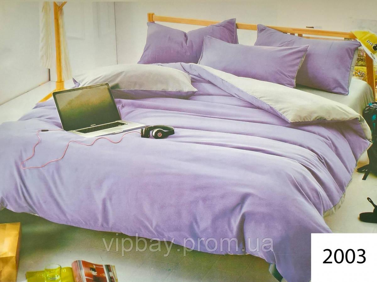 Комплект постельного белья однотонный Полуторный Поликоттон Moda 2003-