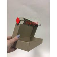 Коробка картонная 180 * 180 * 50 мм, самосборная