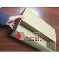 Коробка картонная 410 * 150 * 110 мм, самосборная