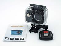 Экшн камера с пультом DVR SPORT remote Wi Fi waterprof 4K