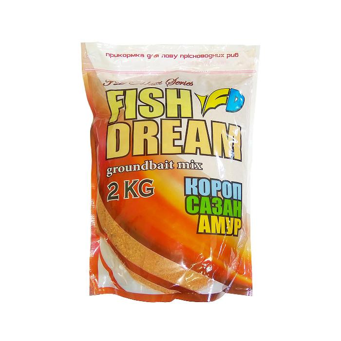 "Карповая прикормка Fish Dream ""Карп-Сазан-Амур"" 2kg"