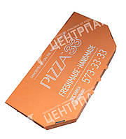 Коробка для пиццы Кальцоне 330*165*40 мм Белая