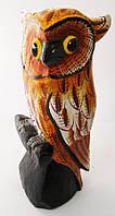 Статуэтка Сова деревянная расписная