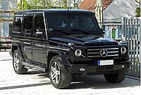 3D Коврики Mercedes G-Class Кожаные (W463 / 2010-2018) Чёрные, фото 1