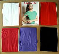 Женская цветная футболка из легкой микрофибры T-shirt s/t manica corta