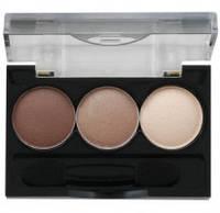Ninelle - Трехцветные тени для век Smoky Eyes компактные № 23 - 2.4 ml (арт. 17763) ( EDP51564 )