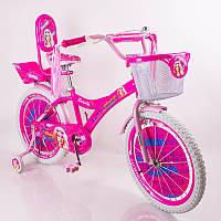 Двухколесный велосипед Барби Бьюти для девочки , фото 1