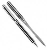 Pierre Cardin - Набор Cosmic Steel ручка шариковая и нож для бумаги (арт. PR2442/2N) ( EDP52127 )