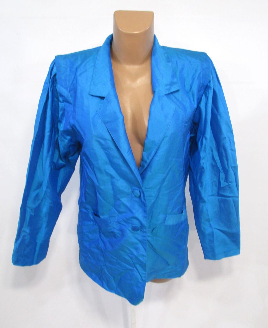 Пиджак из натурального шелка Indra Souvenir, ПОГ-99 см, на L (16), Как