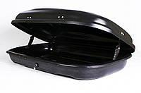 Багажный бокс Десна-Авто 320л черный, одностороннее открывание