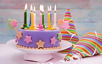 Свечи в торт