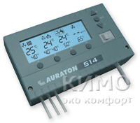 Auraton S14 - 4-х канальный многофункциональный контролер для твердотопливных котлов