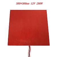 Нагревательный стол (300х300) силиконовый 12V 280Вт