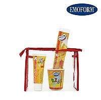 EMOFORM® actifluor KIDS Set Детский набор по уходу за зубами (0-6 лет)