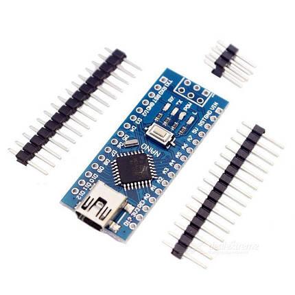 Аrduino Nano 3.0 ATMEGA328P с встроенным micro-USB портом, фото 2