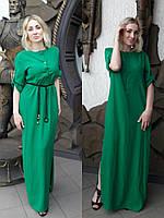 Женское длинное платье из льна . Цвета в ассортименте. Размеры с 42 по 58