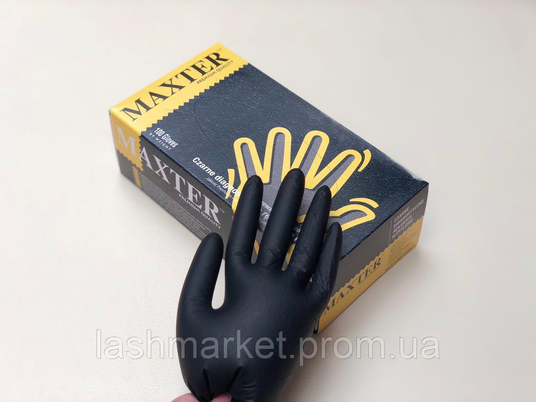 Рукавички медичні нітрилові (колір в асортименті)