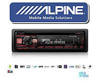 Новинка магнитола ALPINE CDE-201R CD/USB/FLAC 2018