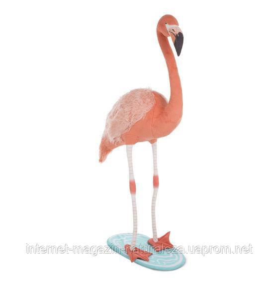 Розовый плюшевый фламинго Melissa&Doug