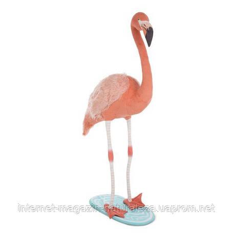 Розовый плюшевый фламинго Melissa&Doug, фото 2
