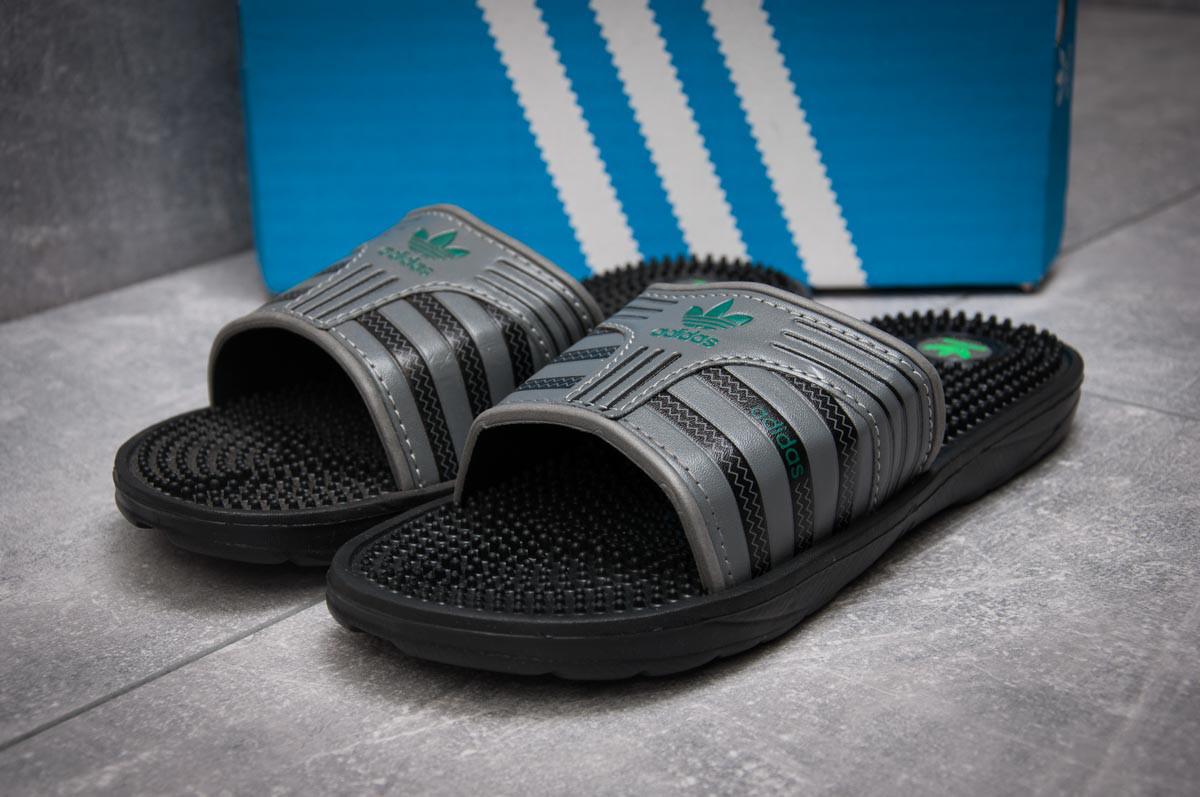 Шлепанцы мужские Adidas FlipFlops, серые (13631) размеры в наличии ►(нет на складе)