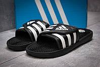 Шлепанцы мужские Adidas FlipFlops, черные (13641) размеры в наличии ►(нет на складе), фото 1