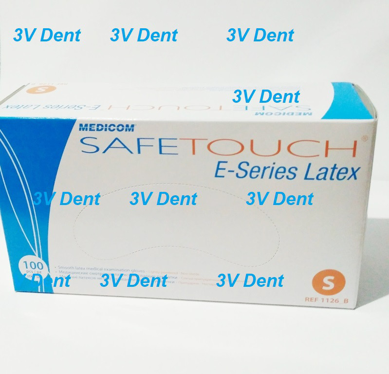 Медичні оглядові рукавички SafeTouch E-Series Latex перчатки Перчатки