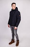 Стёганая куртка мужская с капюшоном 017-1