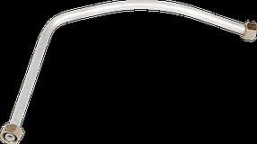 Нагнетательная трубка,#10мм(алюминиевая) компрессора (200*240мм)
