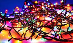 Гирлянда новогодняя160 лампочек 5 метров
