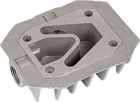 Головка цилиндра(однопоршневого) компрессора (48*71мм)