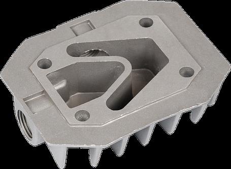 Головка цилиндра(однопоршневого) компрессора (48*71мм), фото 2