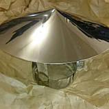 Дымоход Ø120 нержавейка/нержавейка 0,8мм AISI304, фото 8