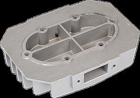 Головка цилиндра (двухпоршневого) компрессора Miol 81-195