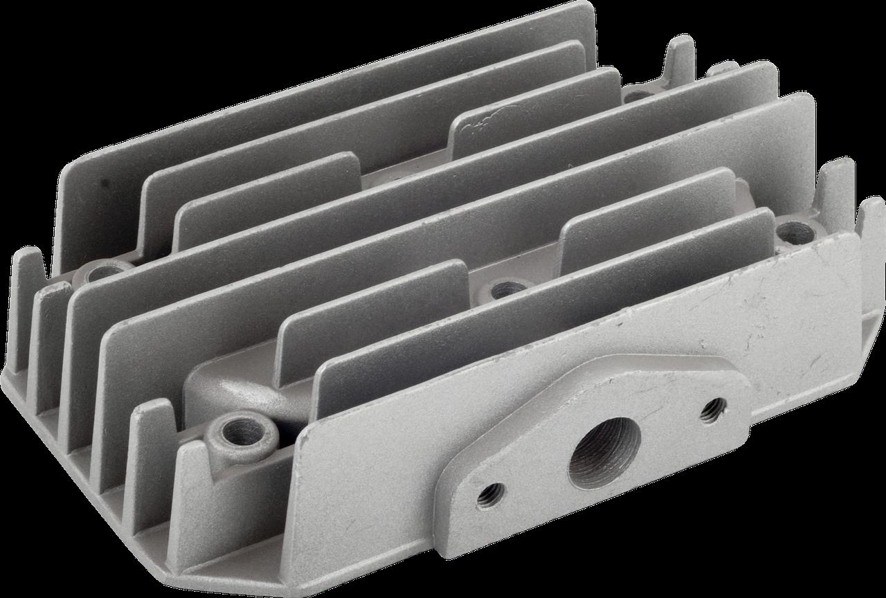Головка цилиндра (двухпоршневого) компрессора Miol 81-191