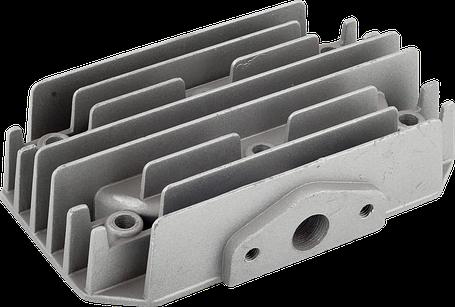 Головка цилиндра (двухпоршневого) компрессора Miol 81-191, фото 2