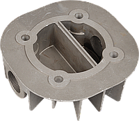 Головка цилиндра (однопоршневого) компрессора