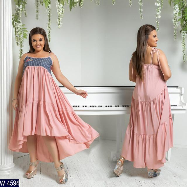 d2d80ddbbb255e3 модель № 5981-1 ткань: штапель + вышитый джинс длина платья: 105/145 см.  Категории: Платье женское ...