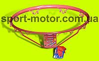 Кольцо баскетбольное с сеткой и креплением
