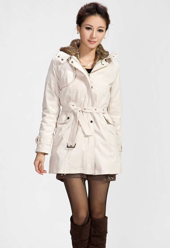 Модная женская куртка парка, еврозима