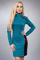 Модное женское платье с замочками