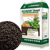 Dennerle, питательный грунт для растительных аквариумов Scaper's Soil 1-4 mm, 8 литров