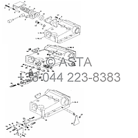 Распределитель управления на YTO X704, фото 1