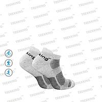 """Спортивные трекинговые летние носки для кроссовок ТМ """"Trekking"""" LowLight серые, фото 1"""