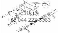 Подъемный механизм в сборе (дополнительно) на YTO X704