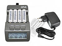 Зарядний Opus BT-C700 для акумуляторів АА і ААА