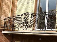 Ограждение балконное кованое в киеве