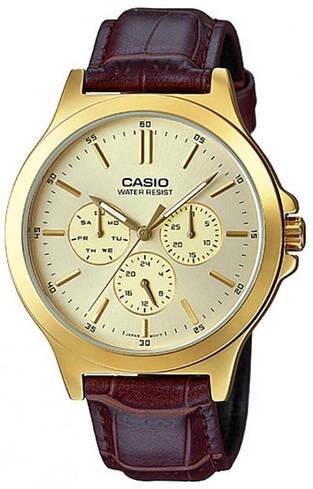 Наручные мужские часы Casio MTP-V300GL-9AUDF оригинал