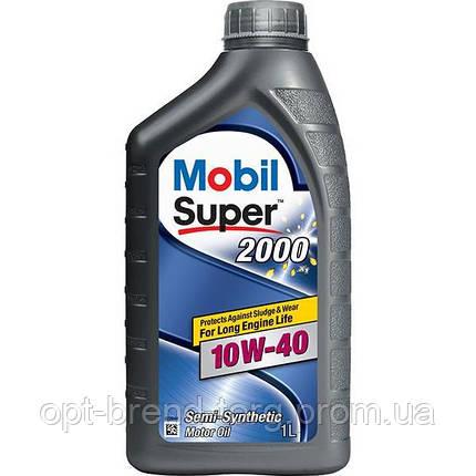 Mobil Super 2000 X1 10W-40 1л., фото 2